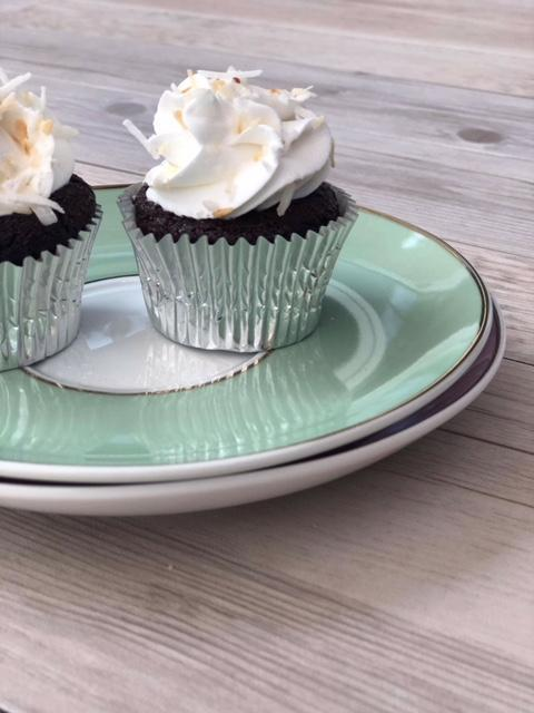 Cake Creations by Kate™ Mini Cupcakes Gluten Free & Vegan 'Chocolate Coconut' Mini Cupcakes