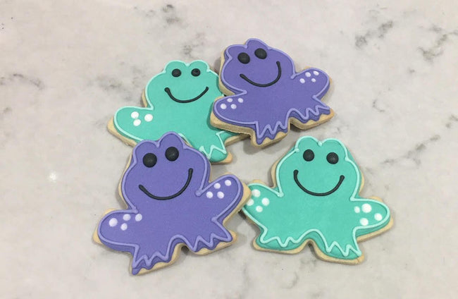 Cake Creations by Kate™ Biscuits Happy Frogs Vanilla Biscuit
