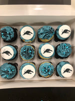 NRL Grand Final PENRITH PANTHERS Mini Cupcakes