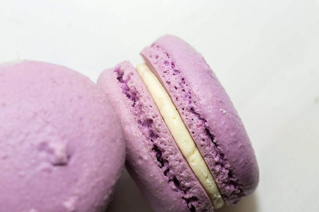 Cake Creations by Kate™ Macarons Lavender Lovin' Passionfruit Macarons
