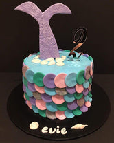 Mermaid Tail Fondant Speciality Cake