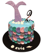 Cake Creations by Kate™ SpecialityCakes Mermaid Tail Fondant Speciality Cake