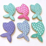 Mermaid Tail Vanilla Biscuit