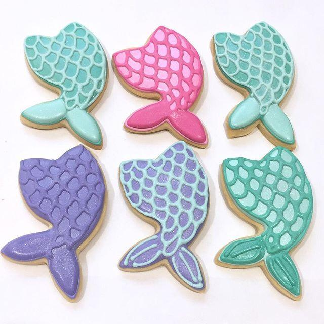 Cake Creations by Kate™ Biscuits Mermaid Tail Vanilla Biscuit