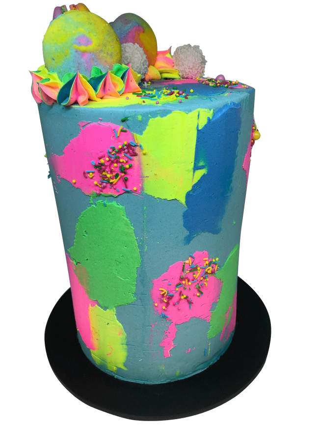 Cake Creations by Kate™ SpecialityCakes Modern and Colourful Buttercream Double-Height Speciality Cake