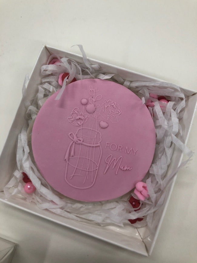 Cake Creations by Kate™ Biscuits Mother's Day Single Biscuit Box