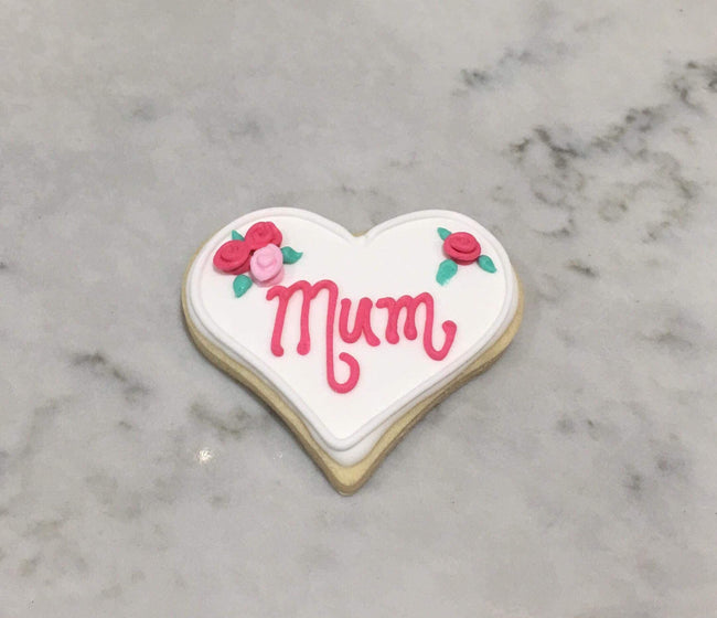 Mum Mothers Day Vanilla Biscuit - Biscuits