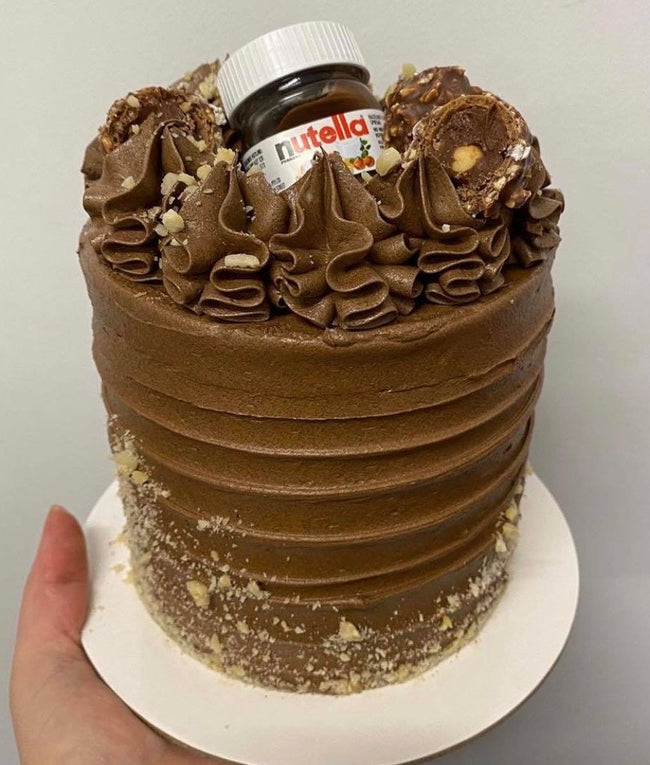 5 Inch Mini Nutella Cake