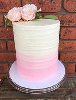 Cake Creations by Kate™ SpecialityCakes Ombre Buttercream Rough Spatula Double Height Speciality Cake
