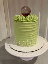 Pastel Green Mother's Day Cake