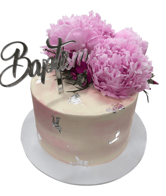 Cake Creations by Kate™ SpecialityCakes Pastel Purple, Pink and Gold Watercolour Buttercream Speciality Cake