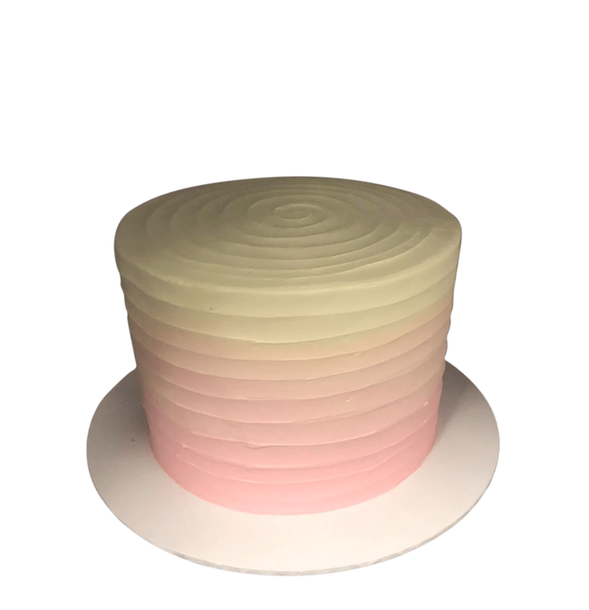 Cake Creations by Kate™ SpecialityCakes Peach and Pink Ombre Extended Height Speciality Cake