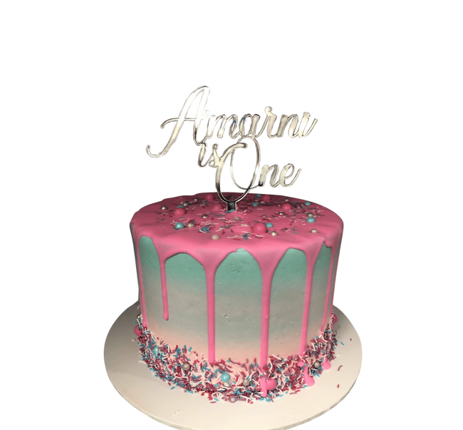 Cake Creations by Kate™ SpecialityCakes Pink and Blue Ombre Buttercream Speciality Cake