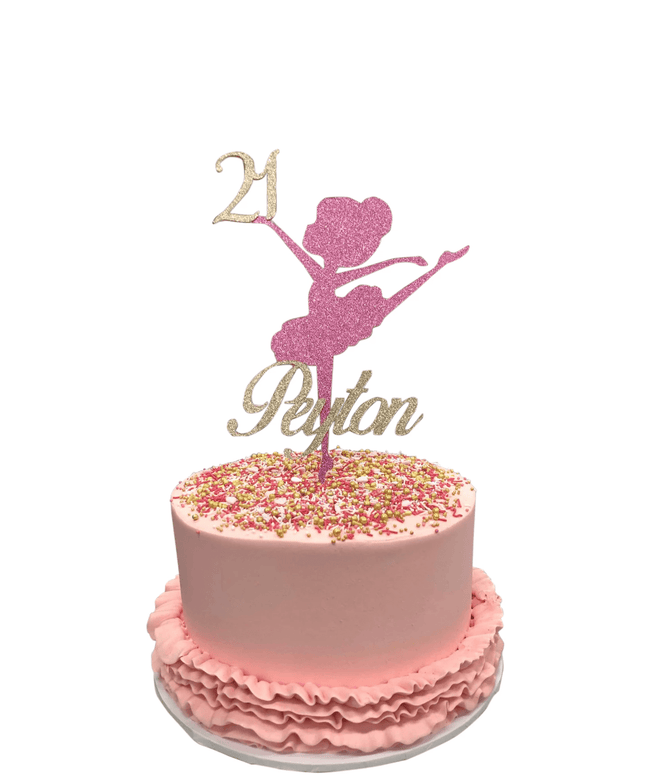 Cake Creations by Kate™ SpecialityCakes Pink Ballerina Buttercream Speciality Cake