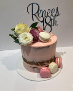 Pink Semi-Naked Extended Height Speciality Cake