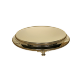Plateau Gold Cake Stand Hire - 16 inch