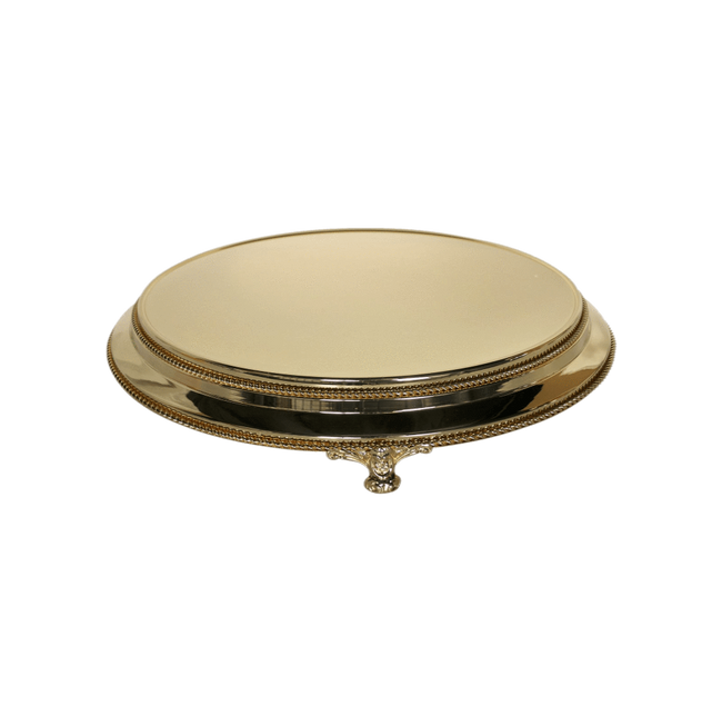 Cake Creations by Kate™ StandHire Plateau Gold Cake Stand Hire - 16 inch