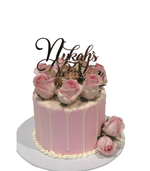 Cake Creations by Kate™ SpecialityCakes Pretty in Pink and White Speciality Cake
