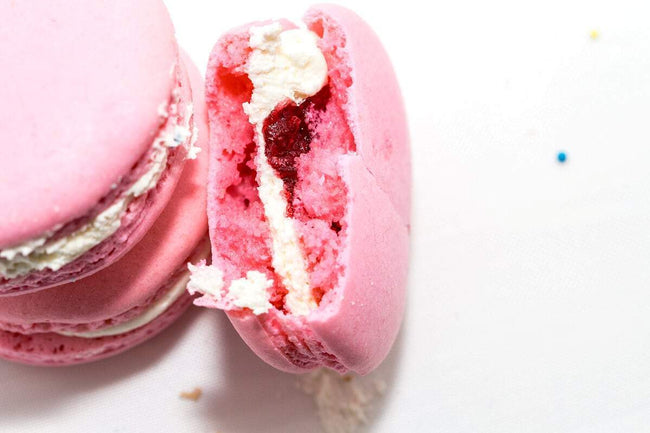 Cake Creations by Kate™ Macarons Pretty in Pink Raspberry Macarons