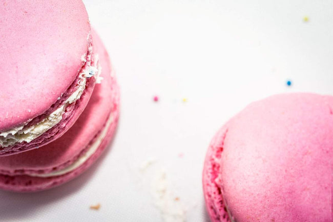 Pretty In Pink Macarons - Macarons