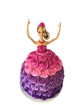 Princess Doll Rosette Skirt Buttercream Speciality Cake
