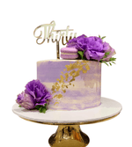 Cake Creations by Kate™ SpecialityCakes Purple and Gold Watercolour Speciality Cake