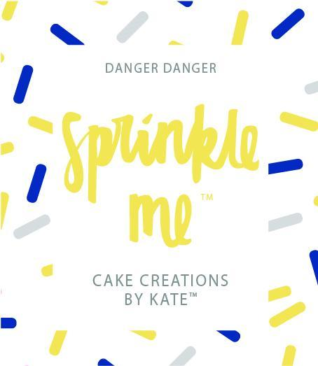 "Cake Creations by Kate™ Sprinkles Sprinkle Me ""Danger Danger"""
