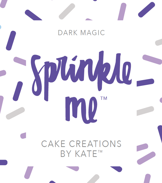 "Cake Creations by Kate™ Sprinkles Sprinkle Me ""Dark Magic"""