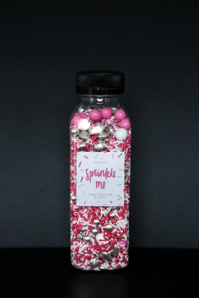 Sprinkle Me Fairy Floss - 330G Bottle - Sprinkles