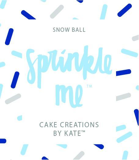 "Cake Creations by Kate™ Sprinkles Sprinkle Me ""Snow Ball"""