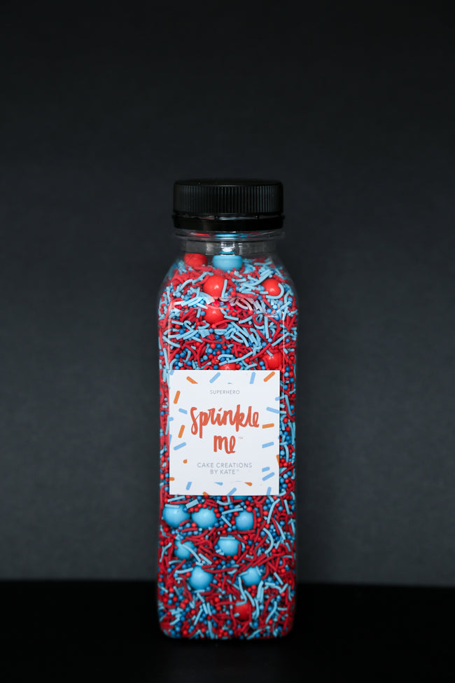 Sprinkle Me Superhero - 330G Bottle - Sprinkles