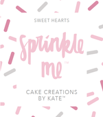 "Cake Creations by Kate™ Sprinkles Sprinkle Me ""Sweet Hearts"""