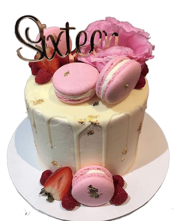 Cake Creations by Kate™ SpecialityCakes Strawberry Sweet Floral Buttercream Speciality Cake