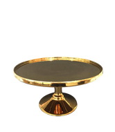 Tall Gold Cake Stand Hire
