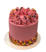 Cake Creations by Kate™ DessertCakes Tall Icing Swirls Colourful Dessert Cake