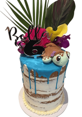 Turtle Love Semi-Naked Double Height Speciality Cake