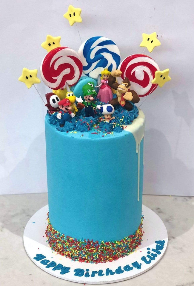 Cake Creations by Kate™ SpecialityCakes Video Game-Inspired Buttercream Double Height Speciality Cake