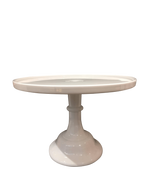White Wedding Cake Stand Hire