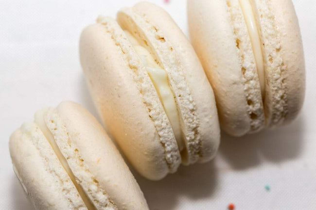 Cake Creations by Kate™ Macarons White Chocolate Whimsy Macarons