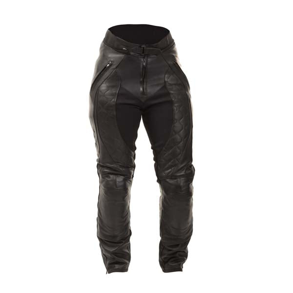 RST Madison 2 Ladies Leather Trousers Black
