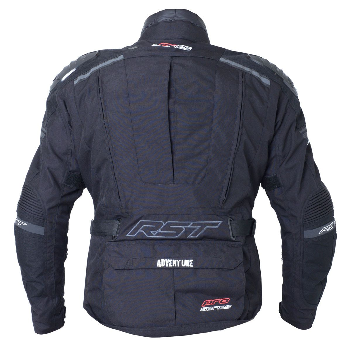 RST Pro Series Adventure III Textile Motorcycle Jacket Black