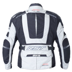 RST Pro Series Adventure III Textile Motorcycle Jacket Silver