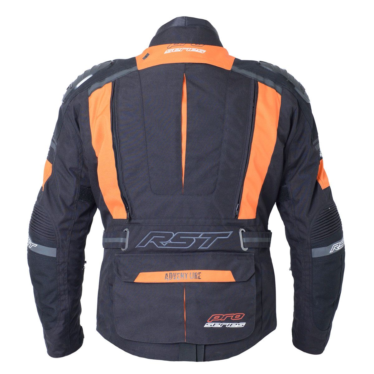 RST Pro Series Adventure III Textile Motorcycle Jacket Orange / Black