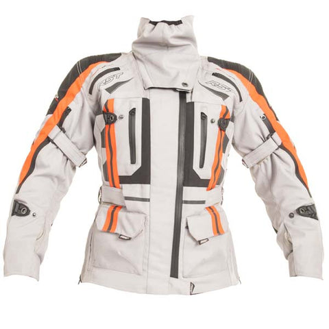 RST Pro Series Paragon V Ladies Textile Motorcycle Jacket Silver