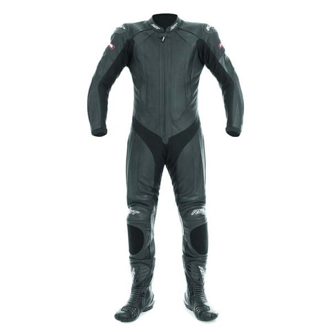 RST R-16 Leather One Piece Suit Black