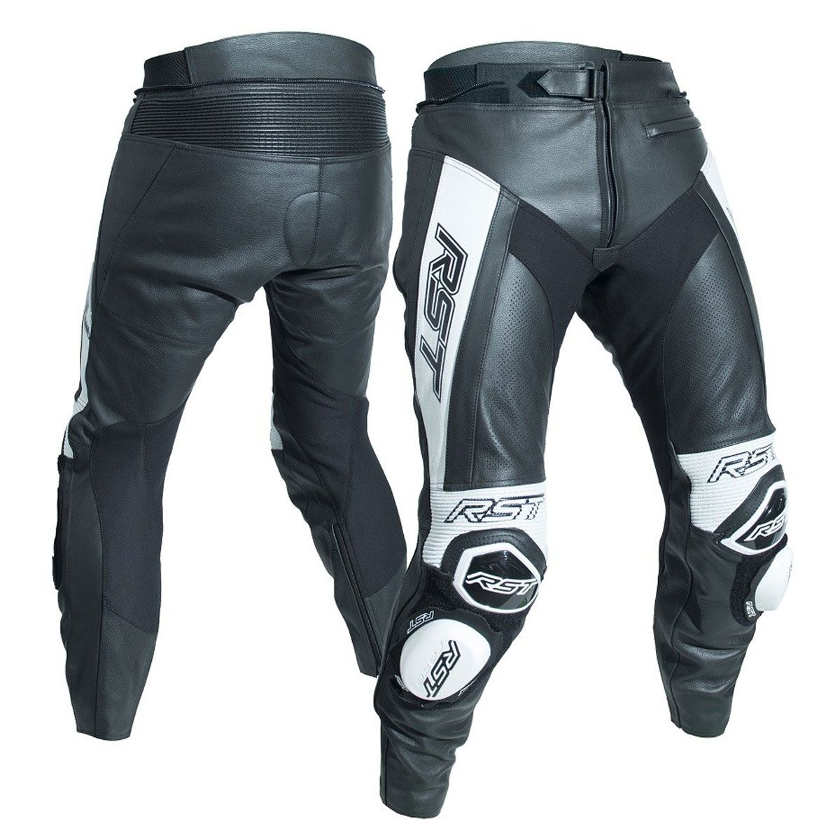 RST Tractech Evo R CE Leather Trouser Black / White