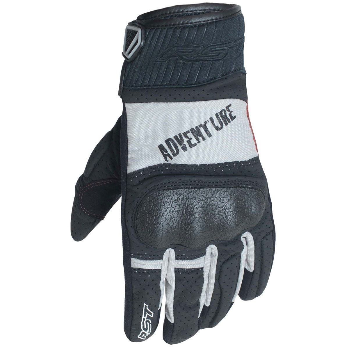 RST Adventure CE Gloves Black / Silver