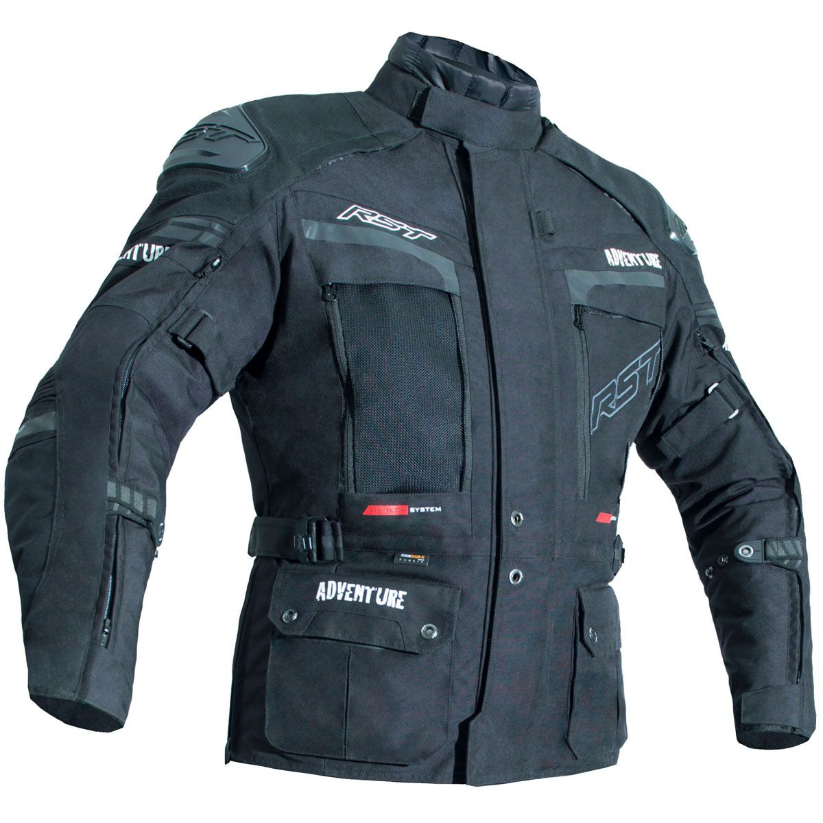 RST Pro Series Adventure III CE Textile Jacket Black