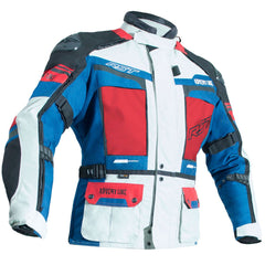 RST Pro Series Adventure III CE Textile Jacket Ice / Blue / Red