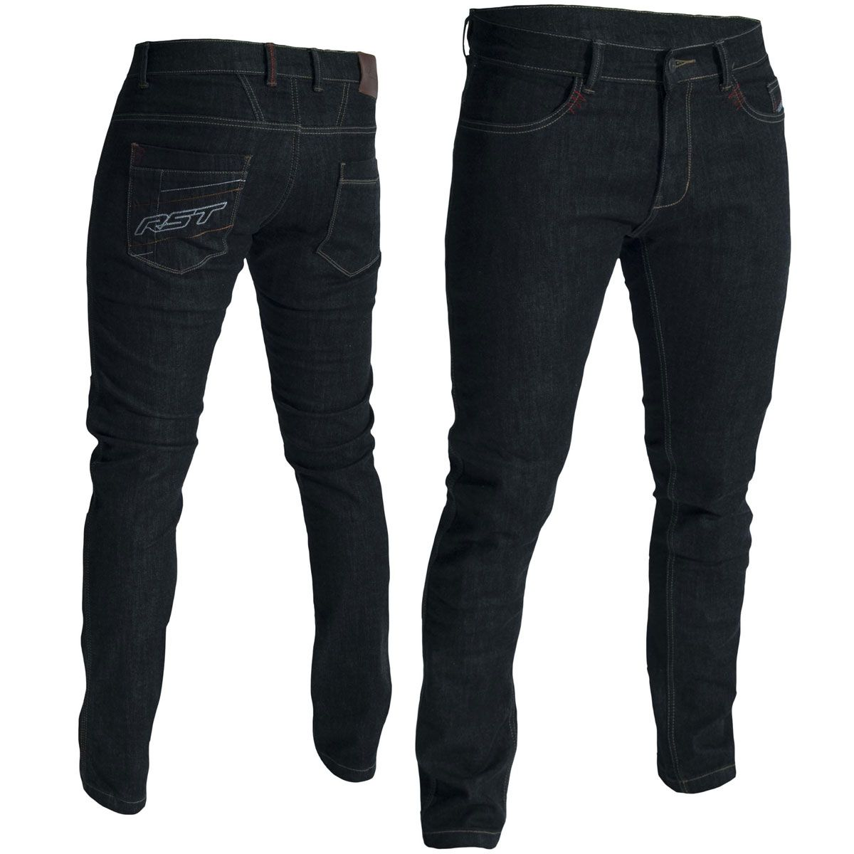 RST Aramid Straight Leg CE Jeans Black